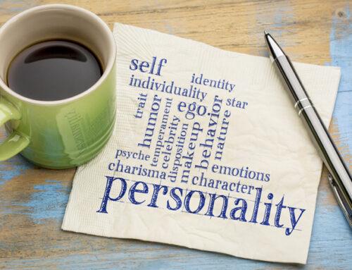 Persönlichkeit kann Krise